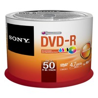 Sony DVD-R 16XINKJET PRINT SPINDLE