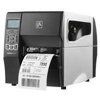 Zebra ZT230, 12 Punkte/mm (300dpi), Cutter, Display, ZPLII, USB, RS232