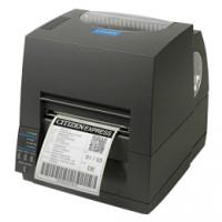Citizen CL-S631, 12 Punkte/mm (300dpi), ZPL, Datamax, Dual-IF, schwarz