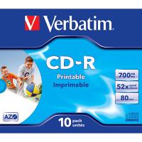 Verbatim CDR 80MIN 700MB 40X FAST