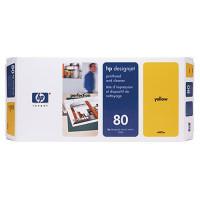 Hewlett Packard Druckkopf Nr.:80, gelb