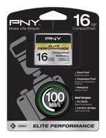 PNY Technologies CF 16GB ELITE PERF. UDMA 7