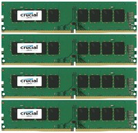 Crucial 16GB KIT (4GBX4) DDR4 2400 MT