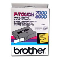 Brother TX-651 LAMINATED TAPE 24MM 15M