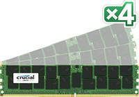 Crucial 64GB DDR4 KIT (16GBX4) 2133