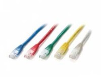 Equip PATCH CABLE CAT.6 U/UTP 1M RED