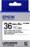 Epson TAPE - LK7WBN STD BLK/WHT 36/9