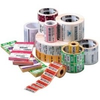 Zebra Z-Select 2000T, Etikettenrolle, Normalpapier, 70x32mm, 8 Stück