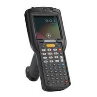 Zebra MC3200 Standard, 2D, BT, WLAN, Alpha, Gun, Disp., WEC 7