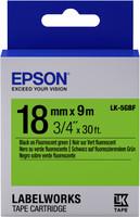 Epson TAPE - LK5GBF FLUOR BLK