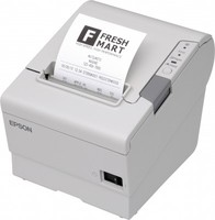Epson TM-T88V, USB, RS232, hellgrau