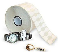 Zebra ZipShip 8000D Juwelier, Etikettenrolle, Kunststoff, 56x13mm, 6 S