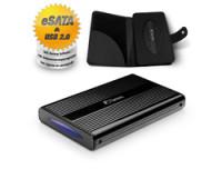 Fantec DB-228U2e black USB2.0 und eSA