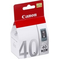 Canon PG-40 BLK INK BLISTER W/SEC