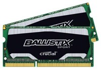 Crucial 8GB KIT (4GBX2) DDR3 1600 MT/S