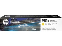Hewlett Packard INK CARTRIDGE 981X YELLOW