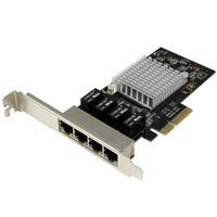 StarTech.com 4-Port Gigabit NIC - PCIe