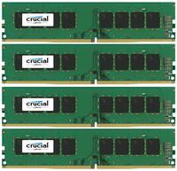 Crucial 32GB KIT (8GBX4) DDR4 2400 MT