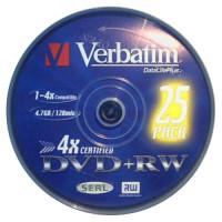 Verbatim DVD+RW 4.7GB 4X SCRATCH