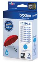 Brother LC-225XLC INK CARTRIDGE CYAN