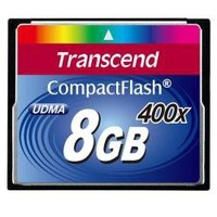 Transcend COMPACT FLASH CARD 8GB 400X