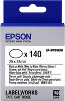 Epson TAPE - LK8WBWAB D-CUT O BLK