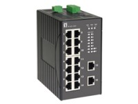 LevelOne 16 FE Unmanaged Switch -40