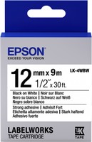 Epson TAPE - LK4WBW STRNG ADH BLK