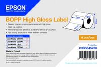 Epson Etikettenrolle, Kunststoff, 76x127mm
