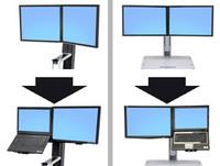Ergotron WORKFIT CONVERT-TO-LCD undLAPT