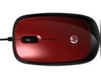 Hewlett Packard X1200 Maus rot