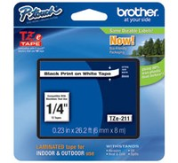Brother TZE-211 LAMINATED TAPE 6mm 8m