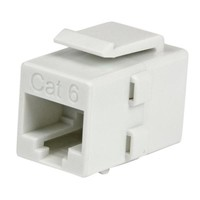 StarTech.com WHITE CAT 6 RJ45 COUPLER