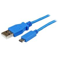 StarTech.com 1M USB / SLIM MICRO USB CBL