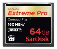 Sandisk COMPACT FLASH CARD 64GB