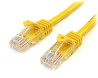 StarTech.com 3M YELLOW CAT 5E PATCH CABLE