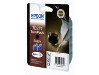 Epson INK CARTRIDGE BLACK 2 PK