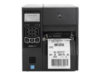Zebra ZT410, 24 Punkte/mm (600dpi), Peeler, Rewinder, RTC, Display, EP