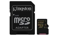 Kingston 64GB MICROSDXC CL10 UHS-I