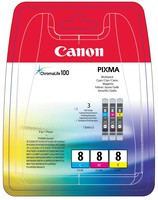 Canon CLI-8 C/M/Y MULTIPACK BLISTER