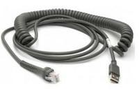 Datalogic ADC Datalogic Scanning USB Kabel, TypA, gedreht, 5m