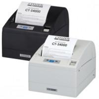 Citizen CT-S4000, USB, RS232, 8 Punkte/mm (203dpi), Cutter, weiß