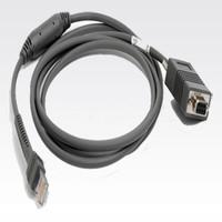 Zebra Kabel RS232, 2,1m, gerade