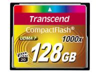 Transcend 128GB Compact Flash Card 100x