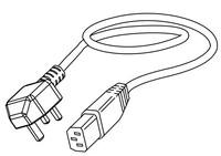Datamax-Oneil CABLE-MAIN-UK BLACK