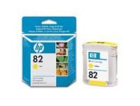 Hewlett Packard Ink Cartridge No.:82, yellow