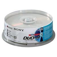 Sony DVD+R, 16X, SPINDLE-BULK 25 PC