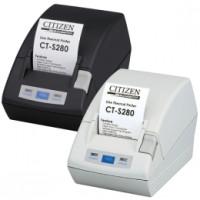 Citizen CT-S281L, RS232, 8 Punkte/mm (203dpi), Cutter, schwarz
