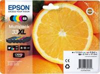 Epson MLTPCK 5COL.33XL PREM INK HIGH