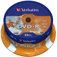 Verbatim DVD-R 4.7GB X25 SPINDLE